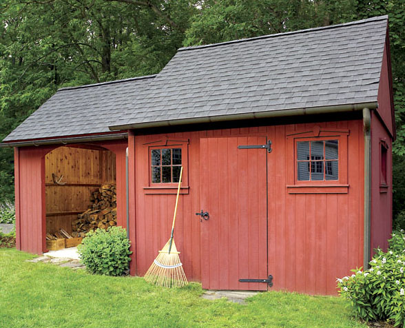 Building a shed attached to garage download my shed plans for House with attached barn plans